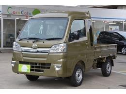 ダイハツ ハイゼットトラック 660 ジャンボ SAIIIt 3方開 4WD 5MT ブルーレイ搭載ナビETCマット付