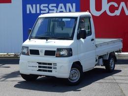 日産 クリッパートラック 660 DXエアコン付 4WD 三方開・5速マニアル