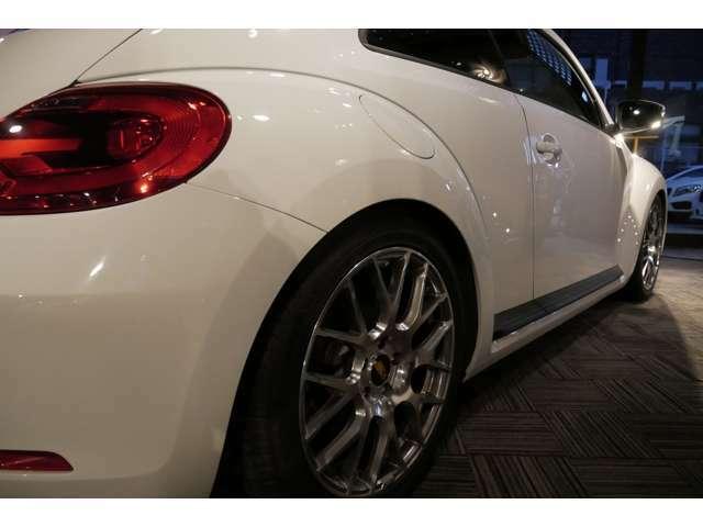 カスタムの幅は広い車種ですが、まずはとっかかりの部分でローダウンされてあるのはとても〇です(^^)/