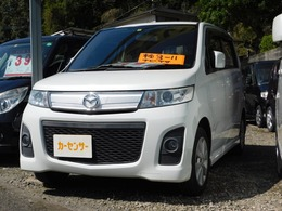 マツダ AZ-ワゴン 660 カスタムスタイル XT ナビ TV ターボ車 パドルシフト 純正AW