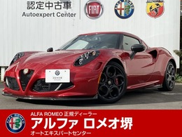 アルファ ロメオ 4C ローンチエディション 100台限定 前18int後19intAW ナビ ETC