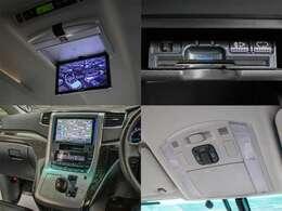 後席モニターや両側自動ドアまでも完備しており、ミニバンの欲する機能を網羅しております。