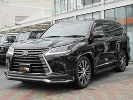レクサス LX 570 ブラック シークエンス 4WD モデリスタエアロ マクレビ リヤエンター