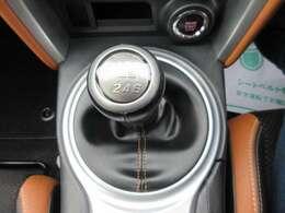 スポーツカーといえば、マニュアルですね♪ 人気の6速マニュアルミッション♪ シフトも軽く楽しくなりますね♪