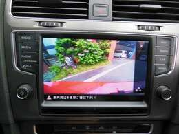 切り替えしで向きが決まれば、後はバックカメラで後方確認!これで駐車ミスなんかともおさらばです!