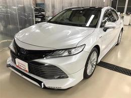 トヨタ カムリ 2.5 G レザーパッケージ 電動シート バックモニター ナビ ETC
