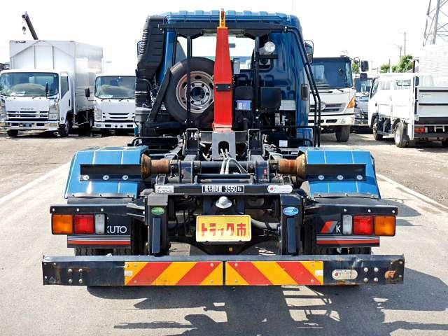 極東開発ハイパースイングフックロール 3,550kg積 エンジン:6M60 220PS