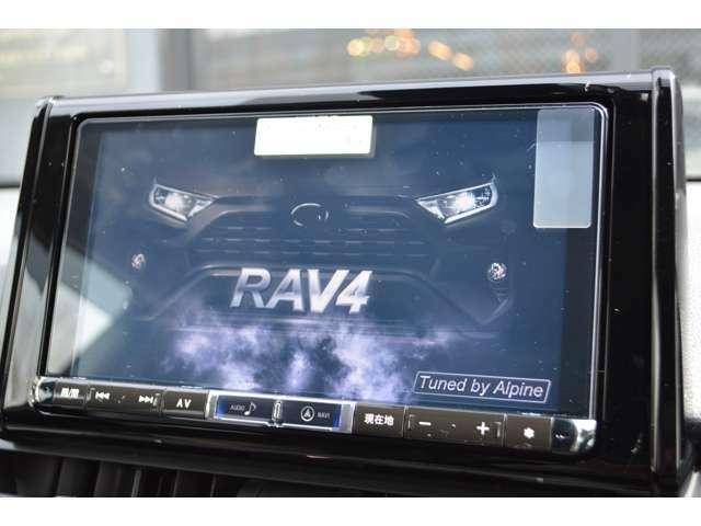 Aプラン画像:アルパイン製 RAV4専用ナビだからこそのフィッティング感と、専用サウンドチューニング済みで大画面ナビと言ったらコレ!