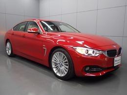 BMW 4シリーズグランクーペ 420i ラグジュアリー 革シート 純正HDDナビ