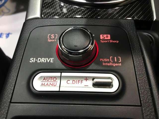 SIドライブ☆運転者が自らの選択により用途に合わせて3つの異なる走行性能を愉しむことを可能としたシステム【SI‐DRIVE】