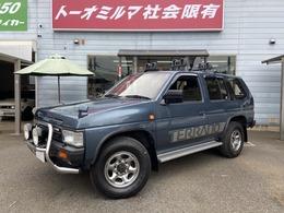 日産 テラノ 3.0 R3M セレクションV 4WD グリルガード フォグ 背面タイヤ 1オーナー