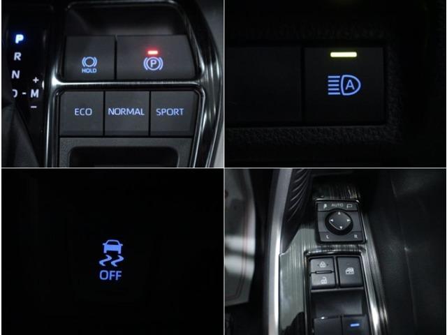 【ドライブモードセレクトスイッチ】走行状況・使用状況に合わせて走行モードを選択できます。ECO・NORMAL・SPORTの3モード。高速道路や街乗りで切り替えると効果的です。