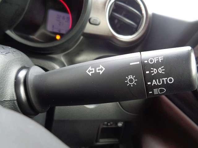 HIDオートライト付きで、暗さを感知して自動でライトを点灯してくれます\(^o^)/