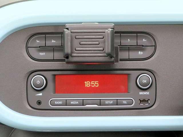 ■USBオーディオ(AM・FMラジオ付き)/AUX/音楽等をお楽しみください!