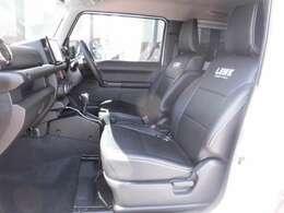 まだ発表前のLBWKの新作シートカーバーです。