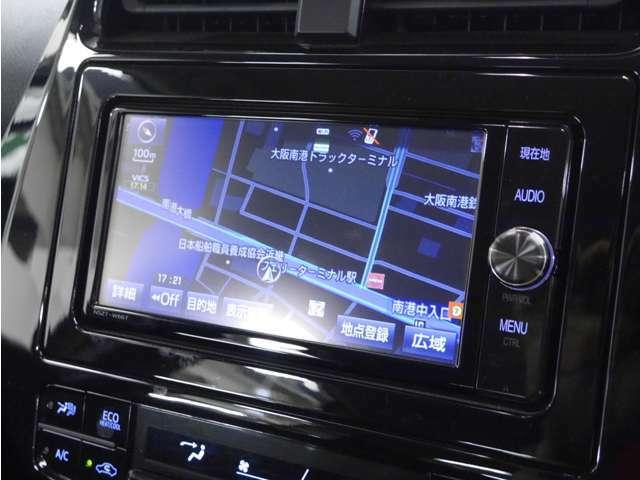 「純正ナビ」純正ナビ付きで知らない土地のドライブも安心!CD、DVD、TVも楽しめます♪