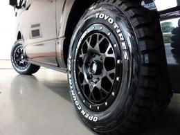 新車ハイエースVダークプライムII2800ディーゼル4WDナビベットKITパッケージ完成致しました!!