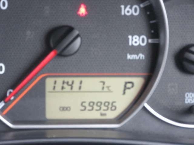走行59996kmです。