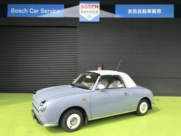 日産 フィガロ 1.0 オープントップ 革シート 走行11000キロ