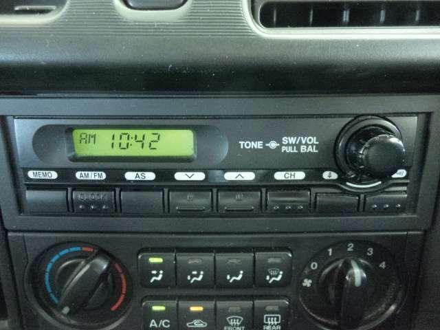 ♪AM/FMラジオです。♪