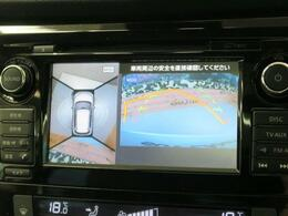 【アラウンドビューモニター】上から見た視点がモニターに映し出されるので、駐車や縦列駐車も簡単です♪