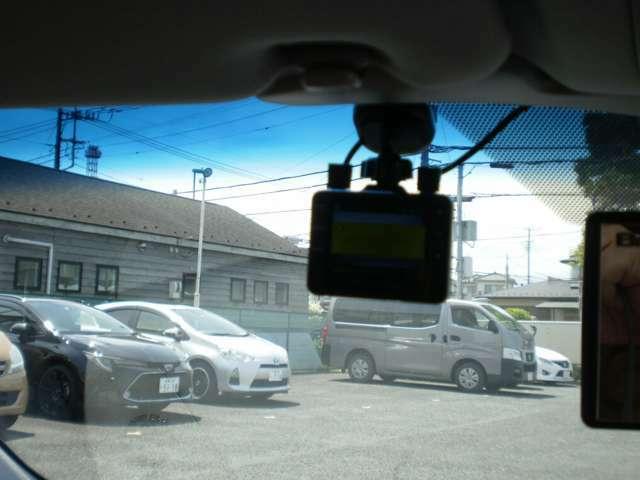 ユピテルドライブレコーダーを装備