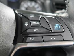 【プロパイロット】高速道路での渋滞や単調な巡航走行において、ドライバーに代わってアクセル・ブレーキ・ステアリングを制御してくれるシステムです♪