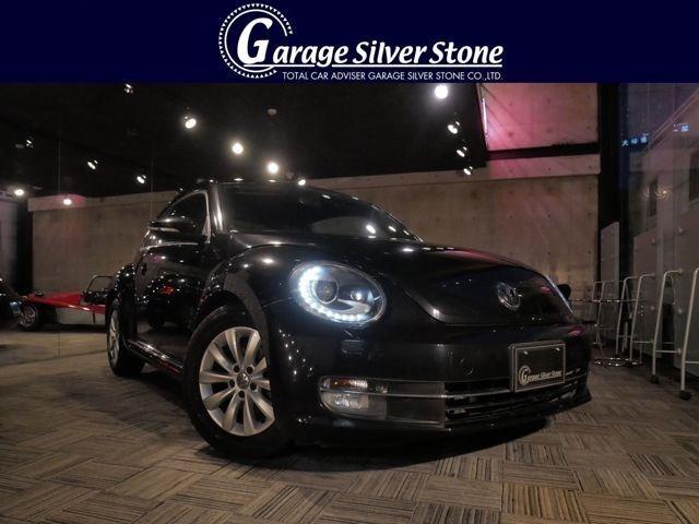2013年式 VW ザ・ビートル デザイン 1.2 ディープブラックパールエフェクト 入庫しました!