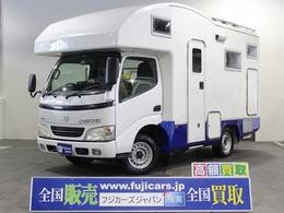 トヨタ カムロード キャンピング バンテック コルドバンクス 4WD 家庭用AC ソーラーパネル FFヒーター