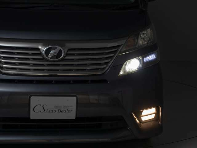 ライトアップフロントビュー!LED・フォグHID変更等も承ります!