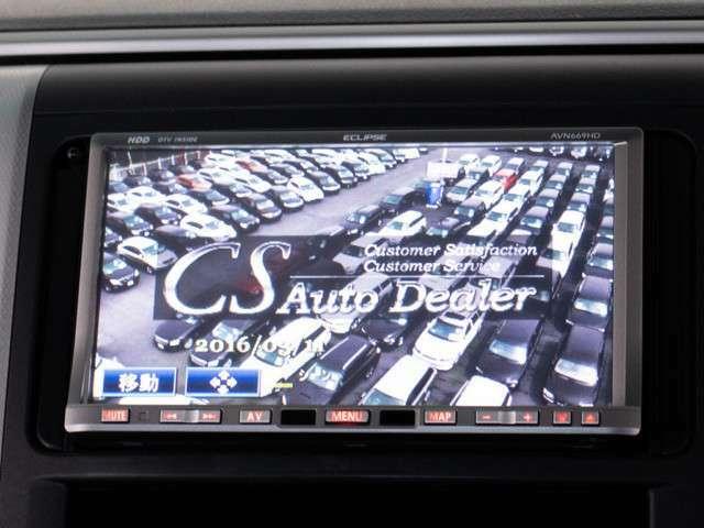 大きなお車でも安心のバックカメラを装備しております。