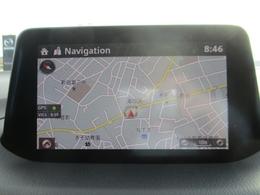 7インチセンターディスプレイにナビやインターネットラジオ、Bluetoothなどのエンターテーメント機能を凝縮したマツダコネクトを装備。音声認識機能にも対応しています。DVD&地デジのオプ付き。