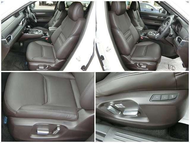 【最適なポジション】 運転席 助手席は電動シートを採用。自分に合った運転姿勢を微調整しながら整えられます☆ また運転席にはシート位置記機能も搭載!