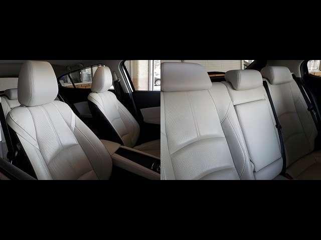 白内装がオシャレなシート☆運転席&助手席と後部座席のシートの様子をご確認ください!