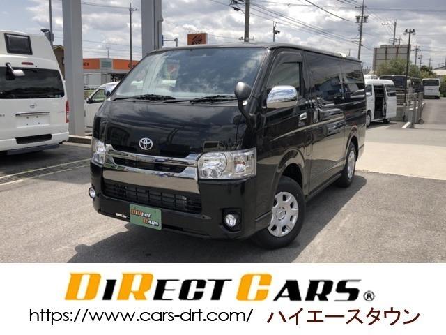 【車両情報】トヨタハイエース 4WD ダークプライム2 3列シート ベッドキットでフルフラット可能♪