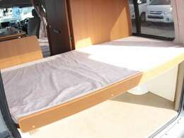 常設2段ベッド下段、就寝人数子供1名!170cm×85cm!
