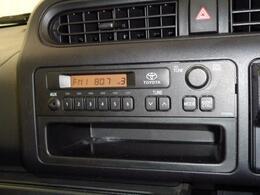 ラジオデッキです。