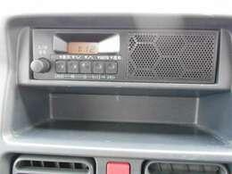 純正オーディオ、FM/AMラジオなどが楽しめます。