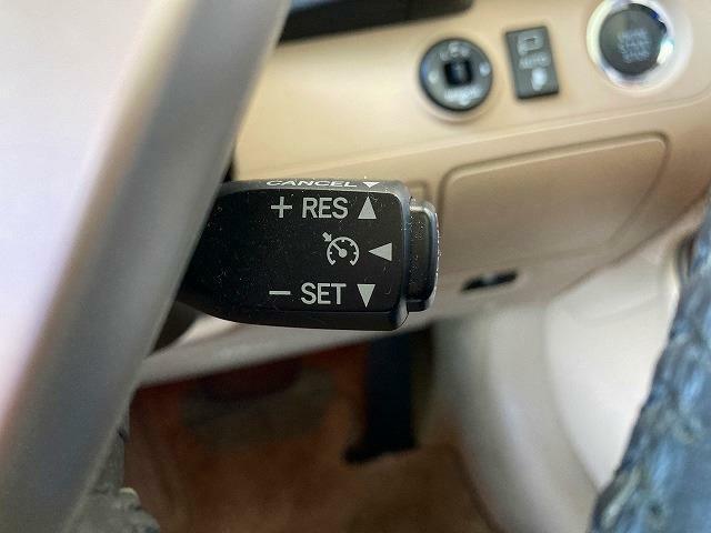 長距離ドライブはクルーズコントール機能を使えば快適です。