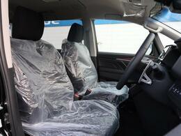 シートの座り心地もばっちりです。やわらかく、身体を包み込んでくれるような質感のシートですよ☆長距離ドライブでも疲れません!