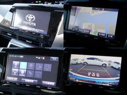 トヨタ純正ナビゲーション、バックカメラ付き搭載しております。