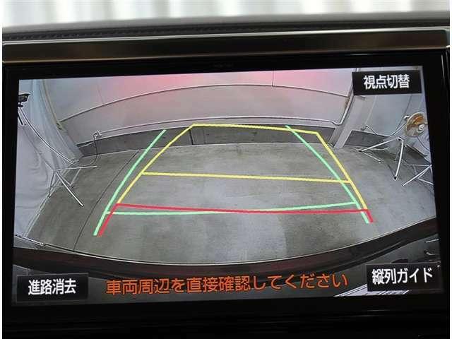 バックモニターは車庫入れの強い味方。 車は構造上、死角がたくさん。後退時の死角をチェックするために便利ですよ。 ただし、バックは目視で確認する事が重要ですよ。