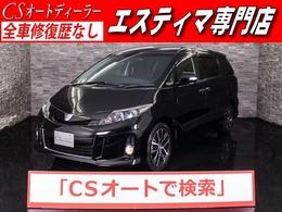 トヨタ エスティマ 3.5 アエラス 4WD サンルーフ/1オーナー/SDナビ/両自ドア