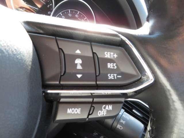 ☆クルーズコントロールはアクセルから足を離しても車速を一定に保つことが出来ます。ずっとアクセルを踏んでいる必要がないため、ドライバーの負担軽減に繋がります☆