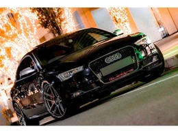 アウディ S5スポーツバック 3.0 4WD RSグリル/クワトロエンブレム/KW車高調