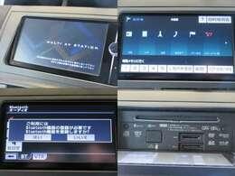 お出掛けに嬉しい、純正SDナビ(フルセグ地デジTV)付きです♪DVDビデオ再生機能・音楽録音機能も装備しております♪