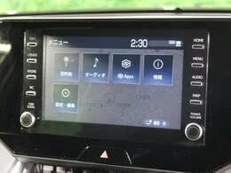 【新型ディスプレイオーディオ】オプションナビゲーション導入済みです!!Bluetoothオーディオで音楽再生も可能です!!