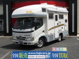 トヨタ カムロード バンテック製 ジル520 4WD FFヒーター 家庭用エアコン インバーター