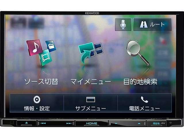 Bプラン画像:DVD再生CD録USB&SDカード対応でハンズフリー電話も可能です走行中TV映ります