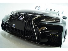 レクサス IS 250 バージョンS 新品3眼シーケン 新品アルミ 新品車高調